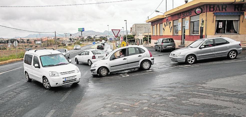 Harán una rotonda en San José Obrero y otra en El Carmolí
