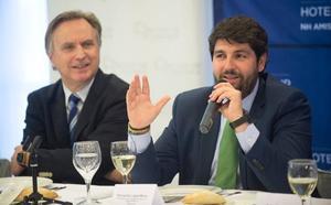 López Miras cree que la previsión de la tasa de paro podría rebajarse a final de año