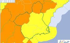 La Aemet activa alertas en toda la Región por fuertes vientos para este sábado