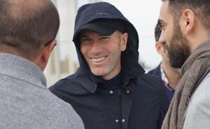 Zidane, en Pinatar Arena para ver a su hijo Luca