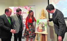 Una dama de la Reina de la Huerta de 2015 es la autora del cartel del Bando