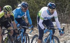 Valverde sigue líder en la Volta