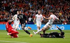 Diego Costa se reafirma como el '9' de España