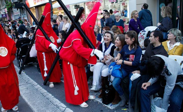 El tumulto 'colorao' inunda Murcia