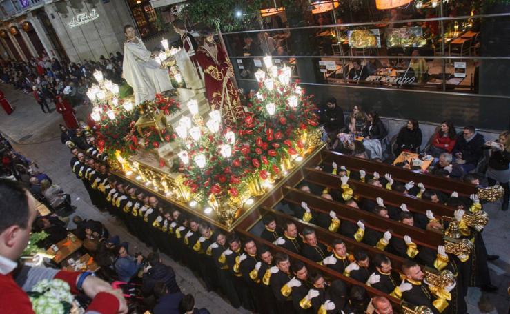Miércoles Santo californio en Cartagena