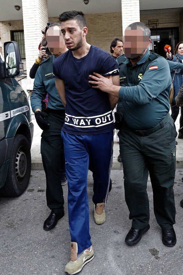 La juez envía a prisión sin fianza al presunto parricida de Las Torres