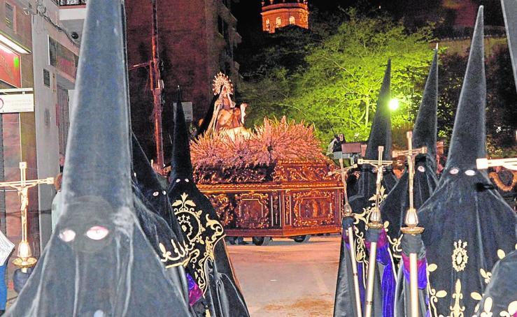 Dolor nazareno en Lorca la noche del Perdón
