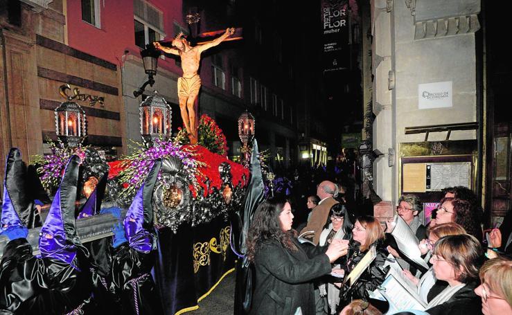 Procesión del Silencio en Murcia