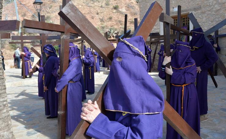 Un austero via crucis de hace 400 años en Lorca