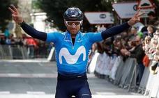 Valverde gana el Gran Premio Miguel Induráin: «Otra más y contentísimo»
