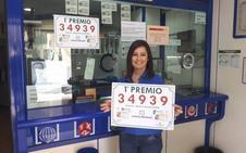El primer premio de la Lotería Nacional deja 2,5 millones de euros en Murcia y Lorca