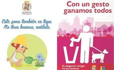 Instalarán 300 carteles en farolas del litoral para animar a «cuidar» parques y jardines