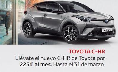 Más por menos en la gama Toyota este mes de marzo
