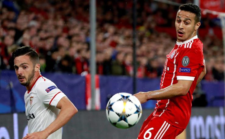 Las mejores imágenes del Sevilla 1-2 Bayern