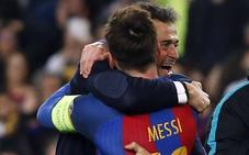 Luis Enrique: «Dirigir a Messi es facilísimo»