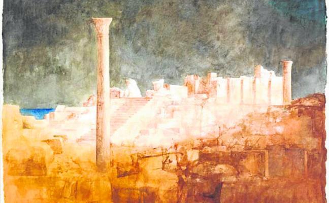 Exposición del pintor Pedro Cano en Roma