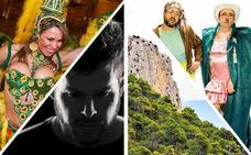 Fiesta, senderismo, mucha música y cine en ocho planes para el fin de semana