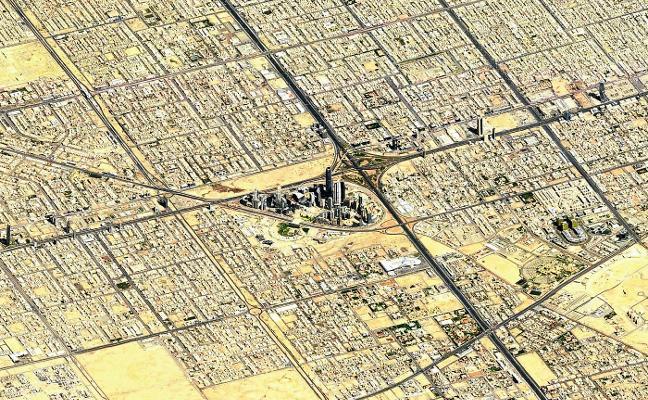 Así se hacen las fotos por satélite que ves en Google Maps