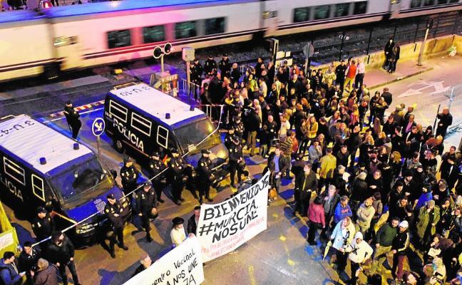 La protesta en las vías recibe 'refuerzos'