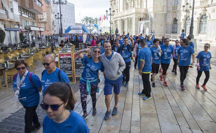 II Ruta Astrade para la inclusión de personas con autismo en Cartagena