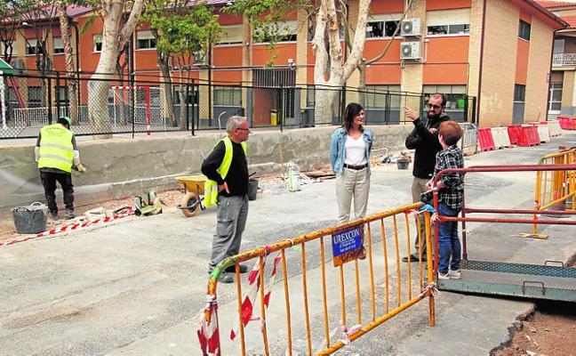 Obras para mejorar la accesibilidad en tres vías