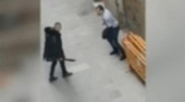 Dos detenidos por una pelea con machetes en el Raval de Barcelona