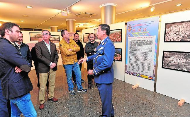 La Academia del Aire muestra su historia