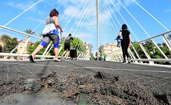 Ahora Murcia pide el proyecto para la pasarela de Vistabella