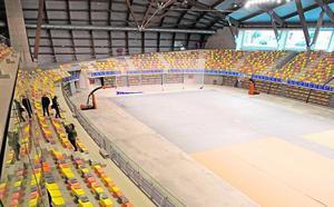 Las dos constructoras del Palacio de Deportes solo repararán la pista central