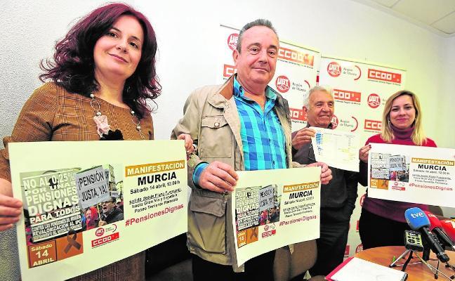 Los sindicatos vuelven a la calle por las pensiones y caldean el Primero de Mayo