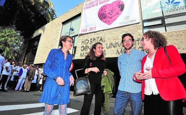 El Hospital Morales Meseguer celebra sus 25 años con charlas y conciertos