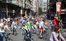 La 'bicifestación' pedirá un plan de movilidad sostenible que combata el cambio climático