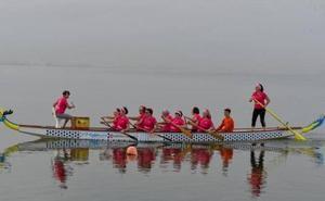 Murcianas que superaron el cáncer de mama representarán a España en la final de Dragon Boat
