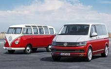 Huertas Motor, en la concentración de furgonetas clásicas Volkswagen