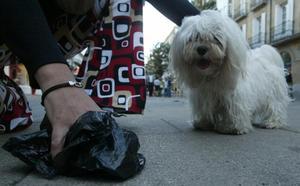 'Cruzada' contra los excrementos de perro que ensucian la vía pública
