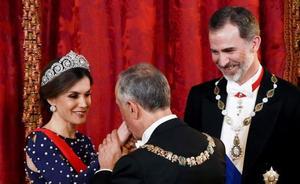 Letizia 'estrena' la tiara Cartier