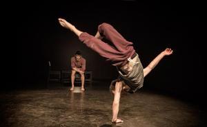 Circo acrobático en 'Bubble'