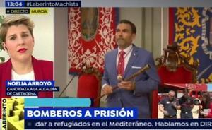 José López justifica, sin disculparse, sus alusiones a Arroyo en una televisión nacional