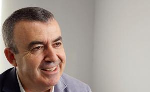 El escritor Lorenzo Silva, en Cieza