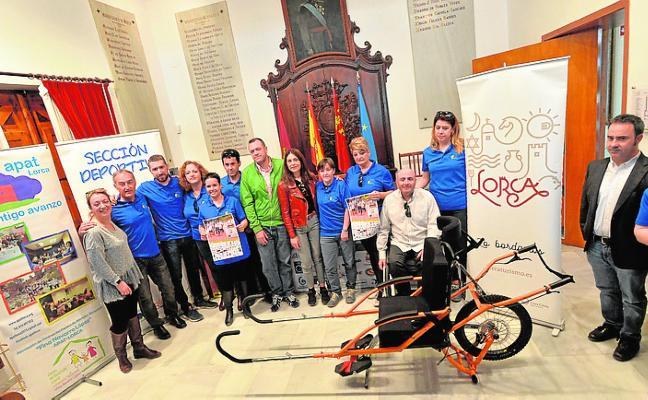 El centro acogerá el sábado el primer Campeonato de España de Joëlette
