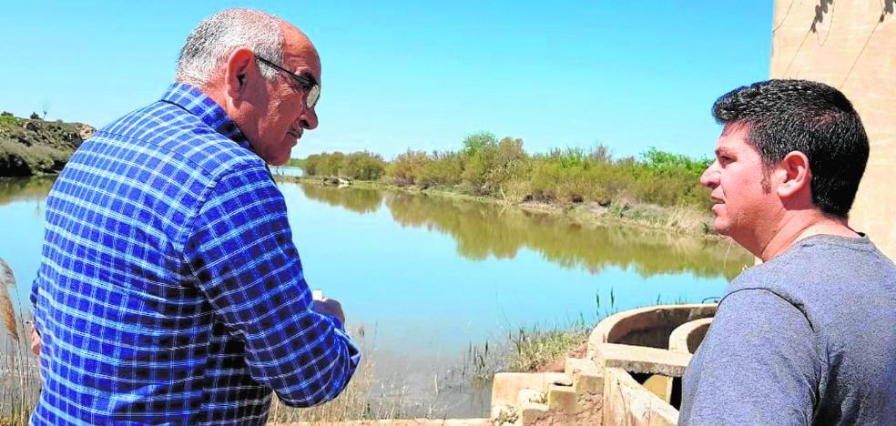 Alberto Garre recorre la ribera del Ebro