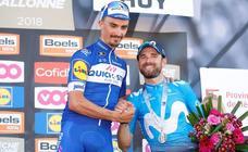 Valverde: «Alaphilippe es muy bueno, le tocaba ganar»