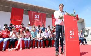 Pedro Sánchez dará un mitin en Molina a final de mes