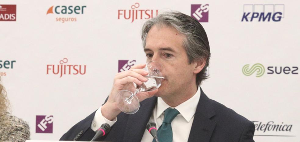 El ministro se compromete a licitar en mayo los dos arcos de Murcia y el tercer carril de la A-7