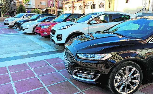 La Feria del Automóvil de Cieza arranca con las ofertas de siete concesionarios