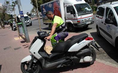 Dos motoristas heridos en sendos accidentes de tráfico en Murcia y Los Garres