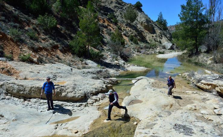 El camino del arroyo Blanco