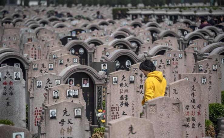 China honra a sus difuntos