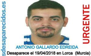 Desaparecido en Lorca un hombre de 26 años que precisa medicación urgente
