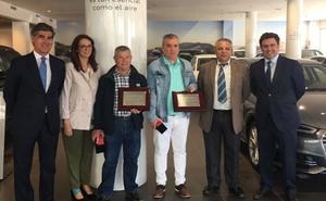 Dos despedidas en Huertas Motor Cartagena